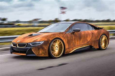 Bmw I8 Rust Wrap Custom Car