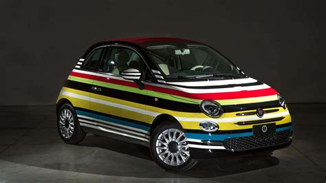 Fiat Garage by Fiat 500c By Garage Italia Customs δημοπρατήθηκε για