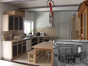 Renovation Maison Avant Apres Travaux : renovation maison avant apres en vido avantaprs un f2 ~ Zukunftsfamilie.com Idées de Décoration