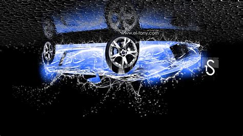 lamborghini gallardo water car head   el tony