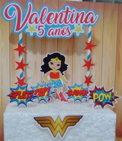 topo de bolo mulher maravilha no elo7 lays ferreyrah lembran 231 as convites bd2bdb