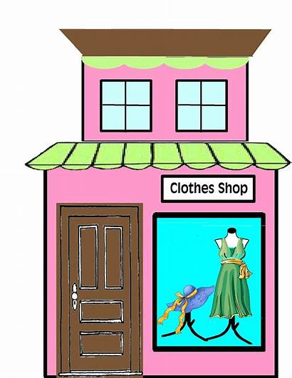 Town Clipart Super Buildings Party Boom Grocery