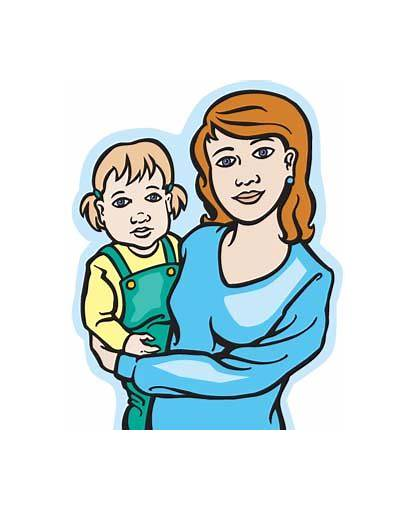 Clipart Mother Mum Vector Clip Cliparts Face