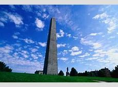 Bunker Hill Monument Boston Central