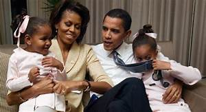 Obama with his daughters - POLITICO