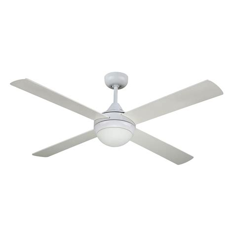 revolve 48 inch ceiling fan white with light 2xe27