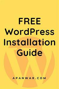 Free Wordpress Installation Guide