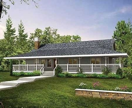 single house plans with wrap around porch ranch style house plans with porch cottage house plans