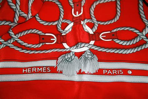 Is This Hermes Scarf Authentic?