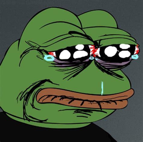 Sad Frog Meme Sad Pepe Frog Blank Template Imgflip