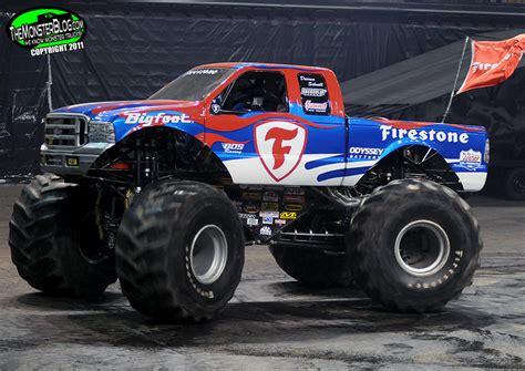 firestone bigfoot monster truck public service announcement please use common sense when