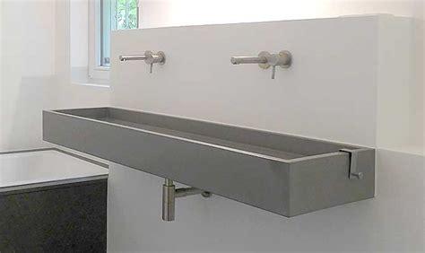 Waschbecken Aus Beton by Waschtisch Aus Beton Quot Block Quot Form In Funktion