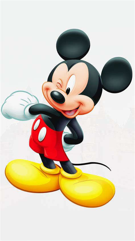 ultra hd mickey mouse wallpaper   mobile phone