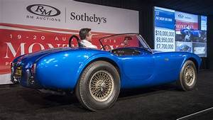 Very first Shelby Cobra sells for $13.75 million, a new record for an American car | Autoblog