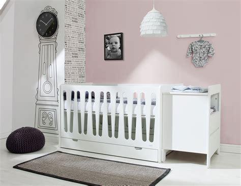 chambre bébé promo pinio moon 2 meubles lit 140x70 sans tiroir commode 2