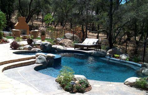 backyard pool ideas best backyard swimming pools marceladick