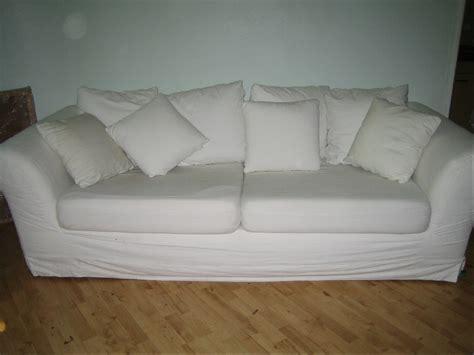 Weiße Bequeme Couch