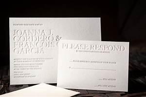 letterpress wedding invitation letterpress rsvp card With wedding invitations with rsvp and menu cards