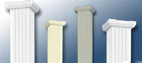 fluted square aluminum column