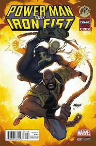 Marvel: POWER MAN & IRON FIST #1 C2E2/ECCC VARIANT
