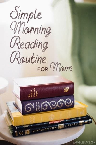 simple morning reading routine  moms daily devotional