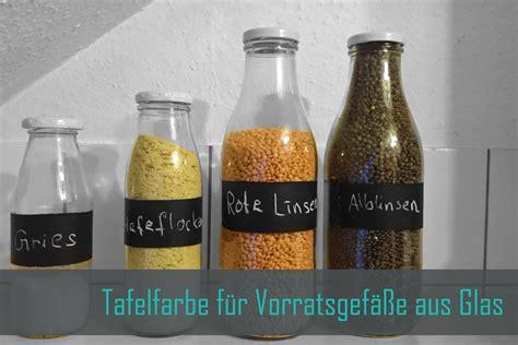 Tafelfarbe Auf Glas by Vorratsgef 228 223 E Aus Glas Mit Sp 252 Lmaschinenfestem Tafellack