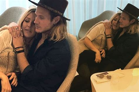 Ellie Goulding and Dougie Poynter continue the love parade ...