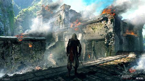 Assassins Creed Iv Black Flag Concept Art By Jan Urschel