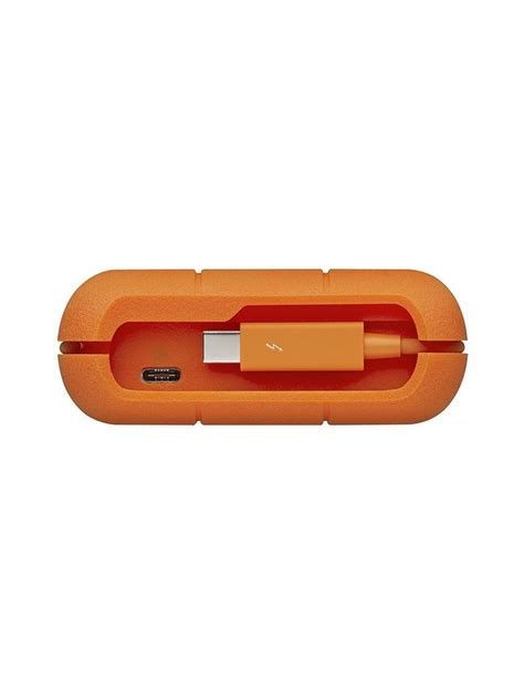 """Porsche design and lacie have produced an exclusive and timeless shape. LACIE RUGGED 2,5"""" USB 3,0 TYPE C-1TB"""