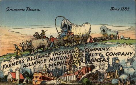 Farmers Alliance Insurance Company advertisement McPherson ...