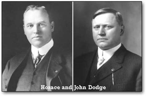 The Dodge Brothers Timeline