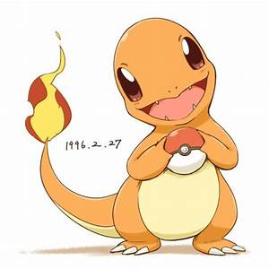 CHARMANDER WITH A POKÉBALL ...