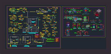 biodigestor dwg full project  autocad designs cad