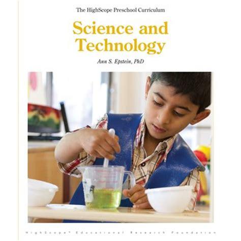 science and technology highscope preschool curriculum 941 | P1413 B