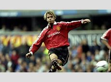 David Beckham Manchester United 19992000 Goalcom