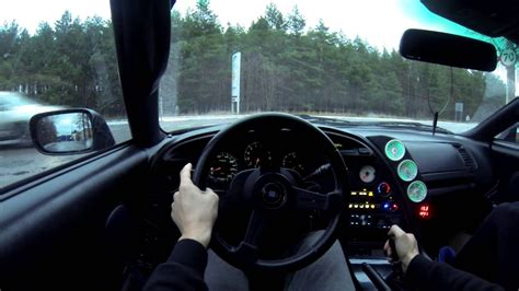 st person city driving toyota supra jz gte mkiv gopro