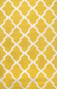 Rugsville - Rugsville Moroccan Trellis 10596 Yellow Ivory