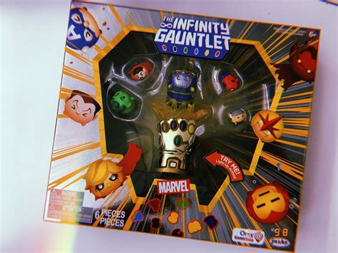 previews   sdcc exclusive infinity gauntlet tsum tsum