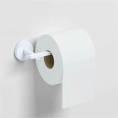Toilet Paper Holder Flat Matt Chrome