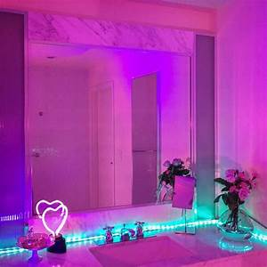 Neon Deco Chambre : image result for neon light photography bedroom goal chambres lumineuses chambre n on et ~ Melissatoandfro.com Idées de Décoration