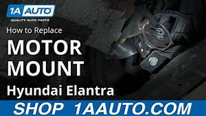 How To Install Replace Front Lower Engine Mount 2001