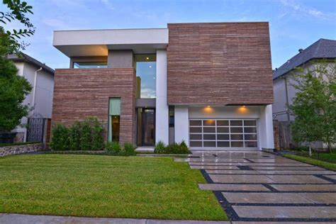 Modern home matches owner's lively personality Houston