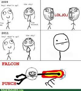 Falcon Punch Rage Meme