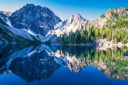 Cascade Mountains Washington Lake Alpine Lakes Wilderness
