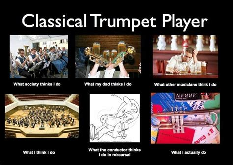 trumpet music players memes band jokes player classical humor quotes nerd really trumpets marching jazz play