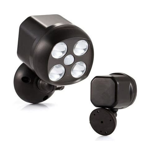motion activated led light wireless bright weatherproof wireless battery powered led motion