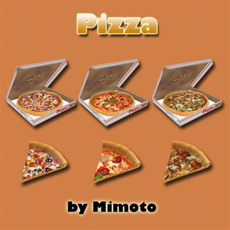 cuisine decorative my sims 4 ts2 decorative food conversions by mimoto