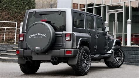 badass 2 door jeep wrangler jeep wrangler gets tuning kit from chelsea truck company