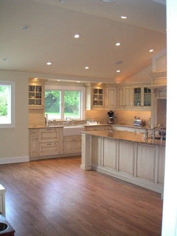 kitchen lighting ideas vaulted ceiling vaulted kitchen ceiling with transom window above sink 8340