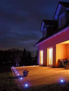 Fassadenbeleuchtung Außen Led : lichtakzentpunkte einbaustrahler fliesenlicht dotspot dot spot ~ Markanthonyermac.com Haus und Dekorationen